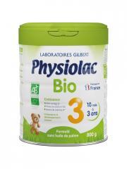 Physiolac Bio 3 10 Mois à 3 Ans 800 g - Pot 800 g