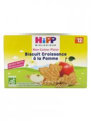 HiPP Mon Goûter Plaisir Biscuit Croissance à la Pomme dès 12 Mois Bio 150 g - Boîte 150 g