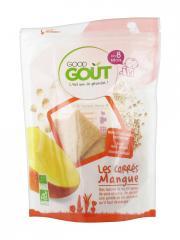 Good Goût Carrés Mangue Dès 8 Mois Bio 50 g - Sachet 50 g