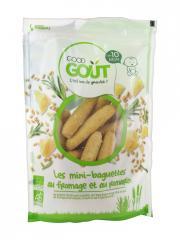 Good Goût Mini-Baguettes au Fromage et Romarin Dès 10 Mois Bio 70 g - Sachet 70 g