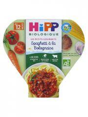 HiPP Les Petits Gourmets Spaghetti à la Bolognaise dès 12 Mois Bio 230 g - Plat 230 g