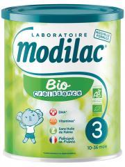 Modilac Bio Croissance 3ème Âge 10-36 Mois 800 g - Boîte 800 g