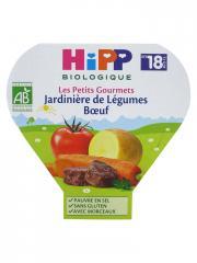 HiPP Les Petits Gourmets Jardinière de Légumes Boeuf dès 18 Mois Bio 260 g - Plat 260 g