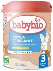 Babybio Primea Croissance 3 de 10 Mois à 3 Ans Bio 800 g - Boîte 800 g