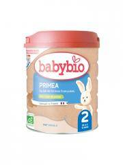 Babybio Primea 2 de 6 à 12 Mois Bio 800 g - Boîte 800 g