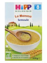 HiPP La Mamma Semoule dès 8 Mois Bio 320 g - Boîte 320 g