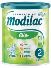 Modilac Bio 2ème Âge 6-12 Mois 800 g - Boîte 800 g