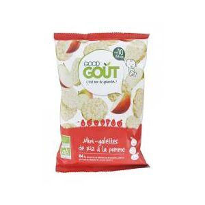 Good Goût Mini-Galettes de Riz à la Pomme Dès 10 Mois Bio 40 g - Sachet 40 g - Publicité