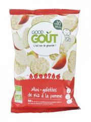 Good Goût Mini-Galettes de Riz à la Pomme Dès 10 Mois Bio 40 g - Sachet 40 g