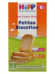 HiPP Mon Goûter Plaisir Petites Biscottes dès 6 Mois Bio 100 g - Boîte 100 g