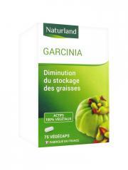 Naturland Garcinia 75 Végécaps - Flacon 75 gélules