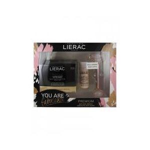 Lierac Coffret Cadeau Premium La Crème Soyeuse Anti-Age Absolu 50 ml - Coffret 2 soins + 1 roller visage