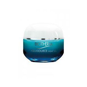Biotherm Aquasource Night Spa Baume Nuit Triple Effet Spa 50 ml - Pot 50 ml - Publicité