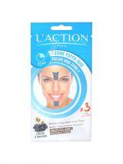 L'Action Paris Patchs Duo Zone-T 3 Sachets - Sachet 3 duos de patchs