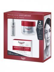 Eucerin Hyaluron-Filler + Volume-Lift Soin de Jour SPF 15 Peau Normale à Mixte 50 ml + 2 Soins Offerts - Coffret 1 soin de jour 50 ml + 2 mini-soins
