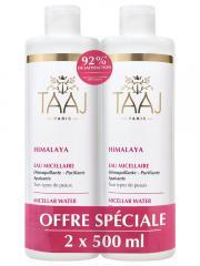 Taaj Himalaya Eau Micellaire Tous Types de Peaux Lot de 2 x 500 ml - Lot 2 x 500 ml