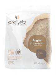 Argiletz Masque & Bain Argile Ghassoul 200 g - Boîte 200 g