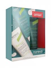 Noreva Exfoliac Global 6 Soin Global Intensif 30 ml + Gel Moussant Doux 100 ml Offert - Coffret 2 produits