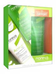 Noreva Actipur 3 en 1 Soin Anti-Imperfections Intensif 30 ml + Actipur Gel Dermo-Nettoyant 100 ml Offert - Coffret 2 produits