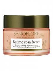 Sanoflore Rosa Fresca Baume de Rosée 50 ml - Pot 50 ml