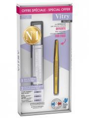 Vitry Toni'Cils Pro Expert 2en1 11 ml + Pince à Epiler Dorée Offerte - Coffret 1 mascara 11 ml + 1 pince à épiler