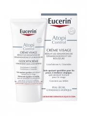 Eucerin AtopiControl Crème Visage Calmante 50 ml - Tube 50 ml