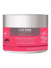 Cattier Masque Soin Couleur Bio 200 ml - Pot 200 ml
