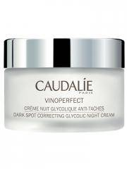 Caudalie Vinoperfect Crème Nuit Glycolique Anti-Taches 50 ml - Pot 50 ml
