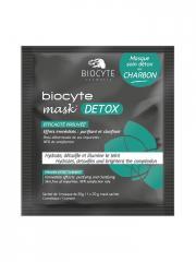 Biocyte Mask Detox au Charbon 1 Masque - Sachet 1 masque de 20 g