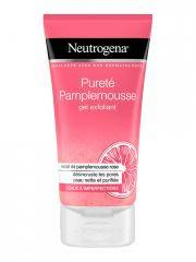 neutrogena visibly clear gel nettoyant exfoliant pamplemousse rose 150 ml - tube 150 ml