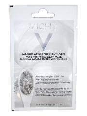 Vichy Masque Argile Purifiant Pores 2 x 6 ml - Sachet 2 x 6 ml