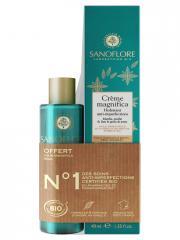 Sanoflore Crème Magnifica Hydratant Anti-Imperfections Bio 40 ml + Aqua Magnifica Bio 50 ml Offert - Lot 1 flacon + 1 tube