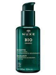Nuxe Bio Organic Huile Corps Nourrissante Régénérante 100 ml - Flacon-Pompe 100 ml