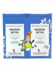 Secrets des Fées Masque Détox Oxygénant Bio 2 x 8 g - Sachet 2 x 8 g