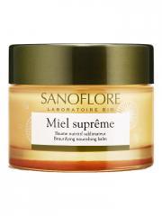 Sanoflore Miel Suprême Baume Nutritif Sublimateur 50 ml - Pot 50 ml