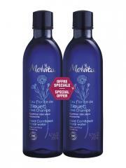 Melvita Eau Florale de Bleuet des Champs Bio Lot de 2 x 200 ml - Lot 2 x 200 ml