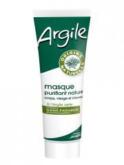 Juvaflorine Masque Purifiant Naturel à l'Argile Verte 300 g - Tube 300 g