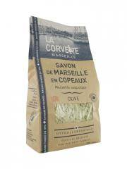 La Corvette Savon de Marseille en Copeaux Olive 750 g - Sachet 750 g