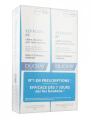 Ducray Keracnyl PP Crème Apaisante Anti-Imperfections Lot de 2 x 30 ml - Lot 2 x 30 ml