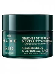 Nuxe Bio Organic Masque Détoxifiant Eclat 50 ml - Pot 50 ml