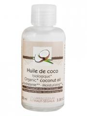 Laboratoire du Haut-Ségala Huile de Coco Bio 100 ml - Flacon 100 ml