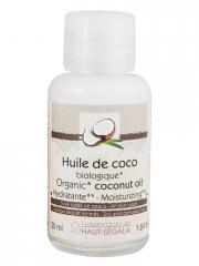 Laboratoire du Haut-Ségala Huile de Coco Bio 50 ml - Flacon 50 ml