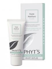 Phyt's Aromaclear Fluide Matifiant Pureté Bio 40 ml - Tube 40 ml