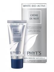 Phyt's White Bio-Active Crème de Nuit Bio 40 g - Tube 40 g