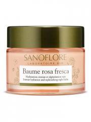 Sanoflore Rosa Fresca Baume de Rosée Bio 50 ml - Pot 50 ml