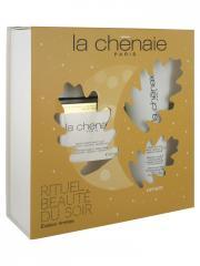 La Chênaie Coffret Rituel Beauté du Soir - Soin Fortifiant Nuit 50 ml + Gelée Clarté Exfoliante 100 ml Offert - Coffret 2 produits