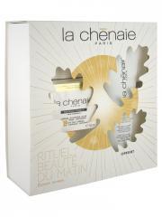 La Chênaie Coffret Rituel Beauté du Matin - Crème Jeunesse Jour 50 ml + Gelée Clarté Exfoliante 100 ml Offert - Coffret 2 produits