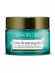 Sanoflore Crème de Nuit Magnifica Bio 50 ml - Pot 50 ml