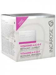 Incarose Pure Solutions Vitamines A C E F Crème Active Perfectrice 50 ml - Pot 50 ml