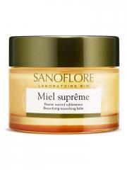Sanoflore Miel Suprême Baume Nutritif Sublimateur Bio 50 ml - Pot 50 ml